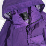 Мужская куртка ветровка Acronym x Nemen Hardshell Object Dyed Dark Purple/White фото- 2