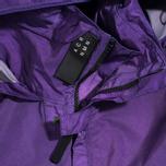 Мужская куртка ветровка Acronym x Nemen Hardshell Object Dyed Dark Purple/White фото- 3