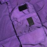 Мужская куртка ветровка Acronym x Nemen Hardshell Object Dyed Dark Purple/White фото- 4