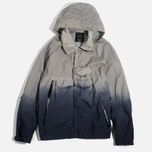 Мужская куртка ветровка Acronym x Nemen Hardshell Object Dyed Light Grey/Blue Denim фото- 0