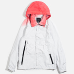 Мужская куртка ветровка Acronym x Nemen Hardshell Object Dyed White/Dirty Orange фото- 0