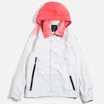 Acronym x Nemen Hardshell Object Dyed Jacket White/Dirty Orange photo- 0