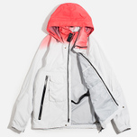 Мужская куртка ветровка Acronym x Nemen Hardshell Object Dyed White/Dirty Orange фото- 1