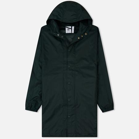 Мужская куртка ветровка adidas Originals Trefoil Coat Green Night