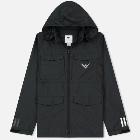 Мужская куртка ветровка adidas Originals x White Mountaineering Field Black