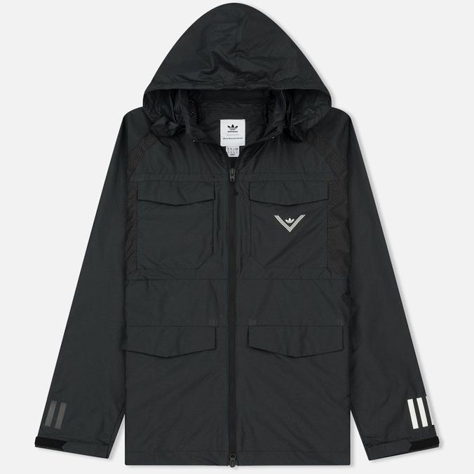 Мужская куртка ветровка adidas Originals x White Mountaineering Field Black