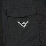 Мужская куртка ветровка adidas Originals x White Mountaineering Field Black фото- 4