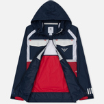 Мужская куртка ветровка adidas Originals x White Mountaineering Field Collegiate Navy фото- 1