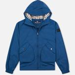 Мужская куртка ветровка Aquascutum Beacons Hooded Blue фото- 0