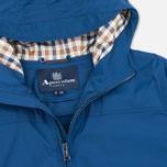 Мужская куртка ветровка Aquascutum Beacons Hooded Blue фото- 2