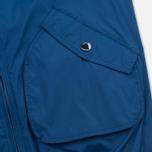 Мужская куртка ветровка Aquascutum Beacons Hooded Blue фото- 5