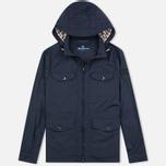 Мужская куртка ветровка Aquascutum Masham Field Navy фото- 0