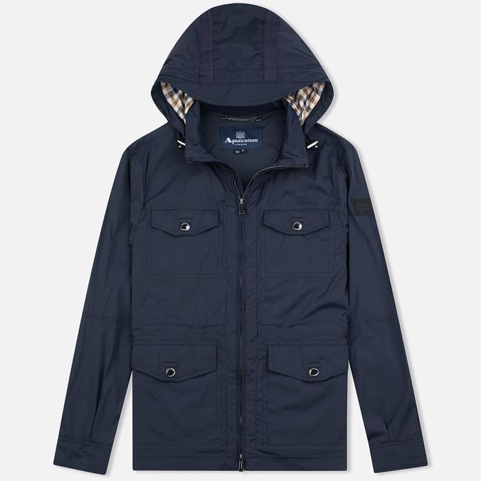 Мужская куртка ветровка Aquascutum Masham Field Navy