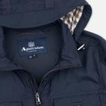 Мужская куртка ветровка Aquascutum Masham Field Navy фото- 2