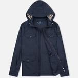 Мужская куртка ветровка Aquascutum Masham Field Navy фото- 1