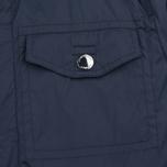 Мужская куртка ветровка Aquascutum Masham Field Navy фото- 6