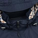 Мужская куртка ветровка Aquascutum Masham Field Navy фото- 3