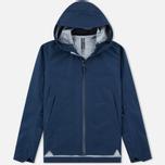 Мужская куртка ветровка Arcteryx Veilance Arris Navy Blue фото- 0