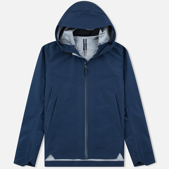 Мужская куртка ветровка Arcteryx Veilance Arris Navy Blue