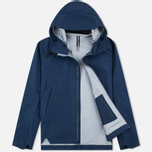 Мужская куртка ветровка Arcteryx Veilance Arris Navy Blue фото- 1