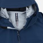 Мужская куртка ветровка Arcteryx Veilance Arris Navy Blue фото- 2