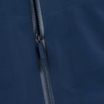 Мужская куртка ветровка Arcteryx Veilance Arris Navy Blue фото- 5