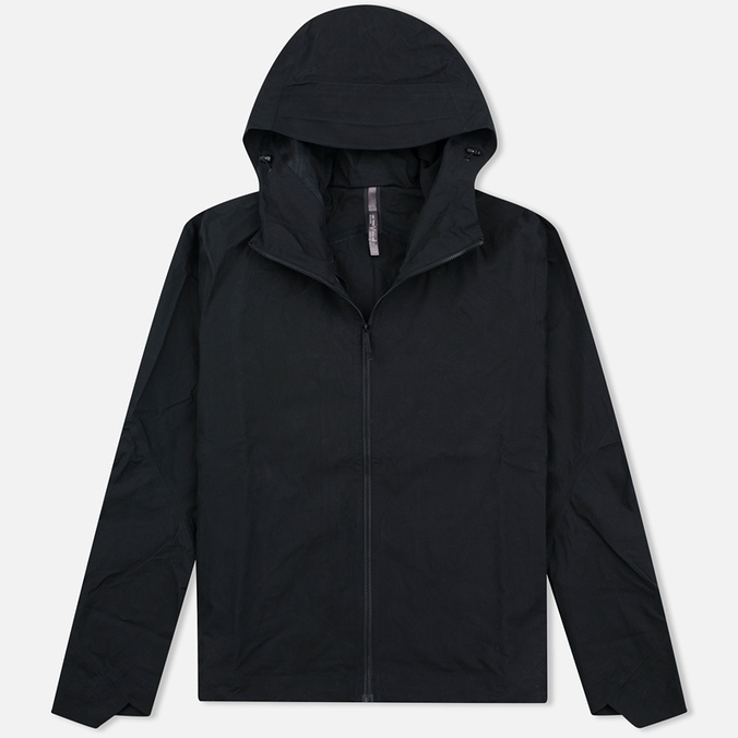 Мужская куртка ветровка Arcteryx Veilance Isogon Black