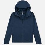 Мужская куртка ветровка Arcteryx Veilance Isogon Navy Blue фото- 0