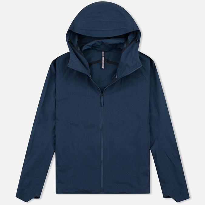 Мужская куртка ветровка Arcteryx Veilance Isogon Navy Blue