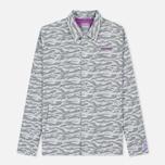 Мужская куртка ветровка ASICS x atmos x Solebox Camo Glacier Grey фото- 0