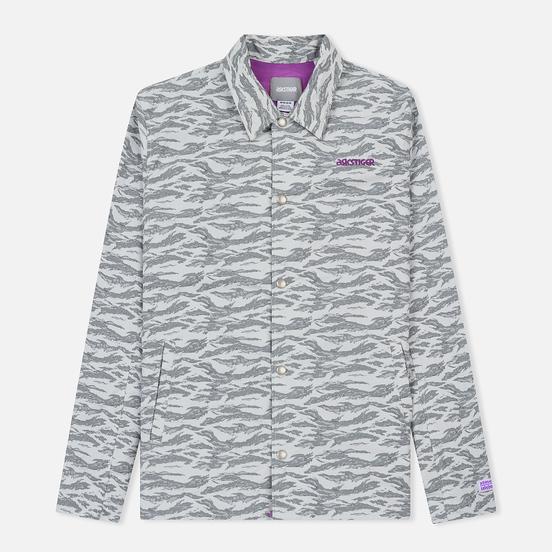 Мужская куртка ветровка ASICS x atmos x Solebox Camo Glacier Grey