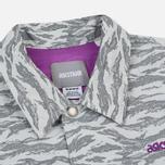 Мужская куртка ветровка ASICS x atmos x Solebox Camo Glacier Grey фото- 1