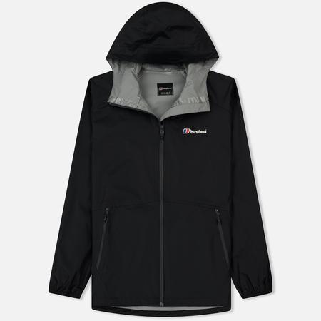 Мужская куртка ветровка Berghaus Deluge Light Black/Black