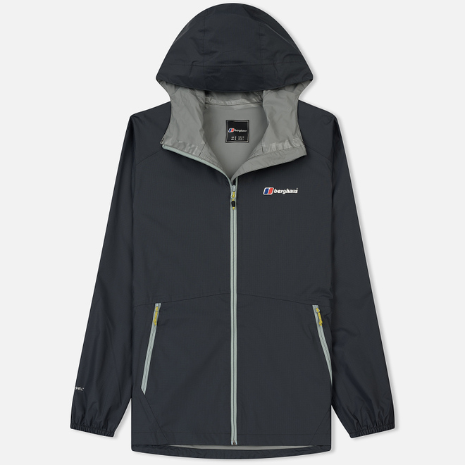 Мужская куртка ветровка Berghaus Deluge Light Dark Grey/Dark Grey