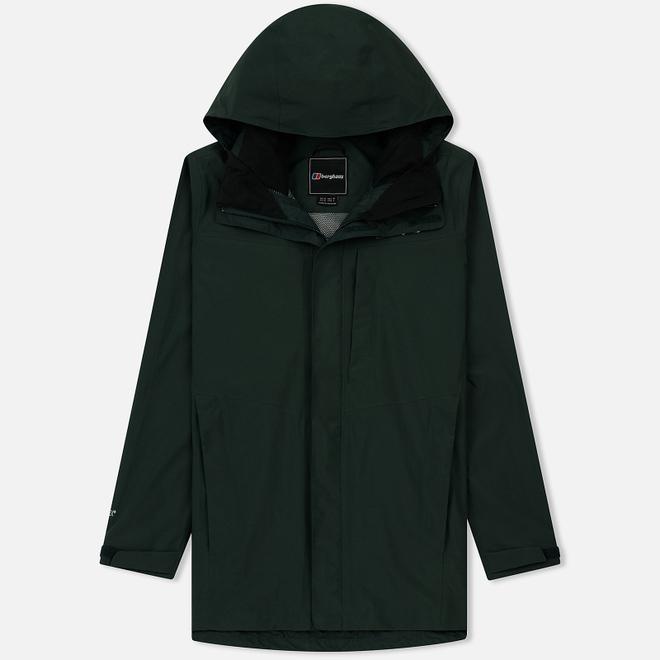 Мужская куртка ветровка Berghaus Long Hillwalker Dark Green/Dark Green