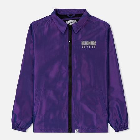 Мужская куртка ветровка Billionaire Boys Club Iridescent Zip Purple
