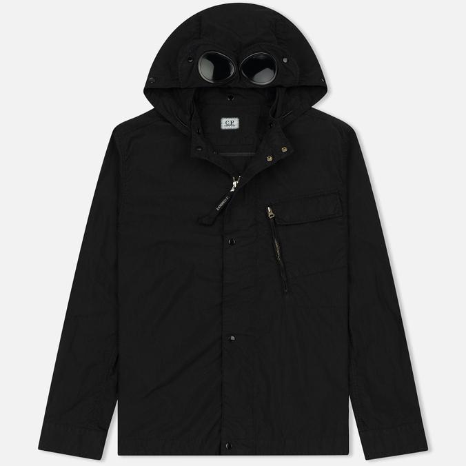 Мужская куртка ветровка C.P. Company 50 Fili Goggle Caviar