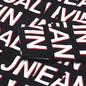 Мужская куртка ветровка Calvin Klein Jeans All-Over Logo Black Exploded Hashtag фото - 2