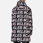 Мужская куртка ветровка Calvin Klein Jeans All-Over Logo Black Exploded Hashtag фото - 4