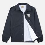 Мужская куртка ветровка Carhartt WIP State Coach Black/White фото- 1