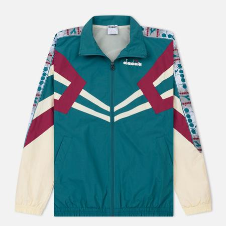 Мужская куртка ветровка Diadora MVB Full Zip Emerald