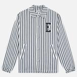 Мужская куртка ветровка Edwin Coach Cotton Hichory Blue Stripe фото- 0