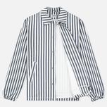 Мужская куртка ветровка Edwin Coach Cotton Hichory Blue Stripe фото- 1