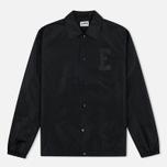 Мужская куртка ветровка Edwin Coach Twill Black фото- 0