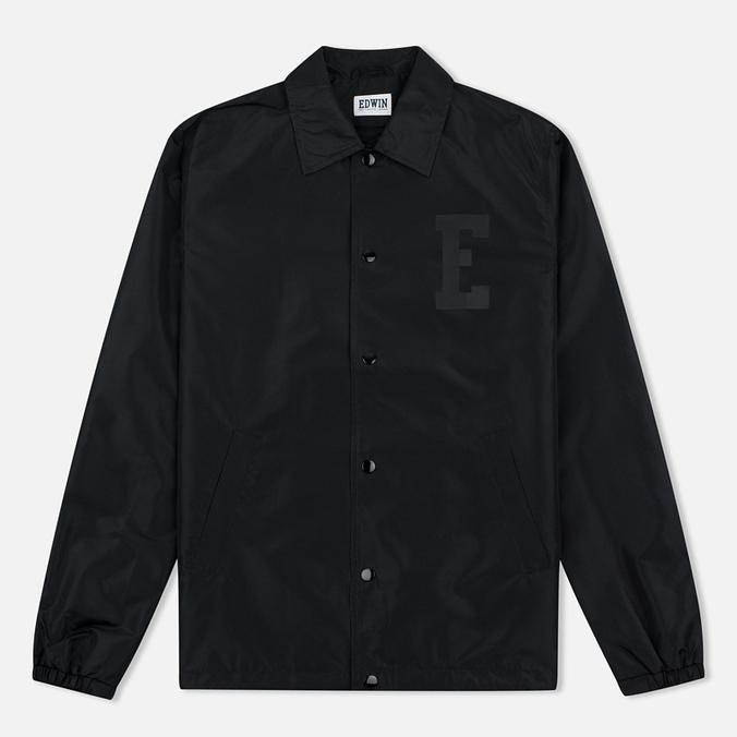 Мужская куртка ветровка Edwin Coach Twill Black
