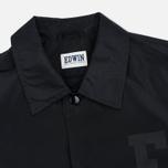 Мужская куртка ветровка Edwin Coach Twill Black фото- 2