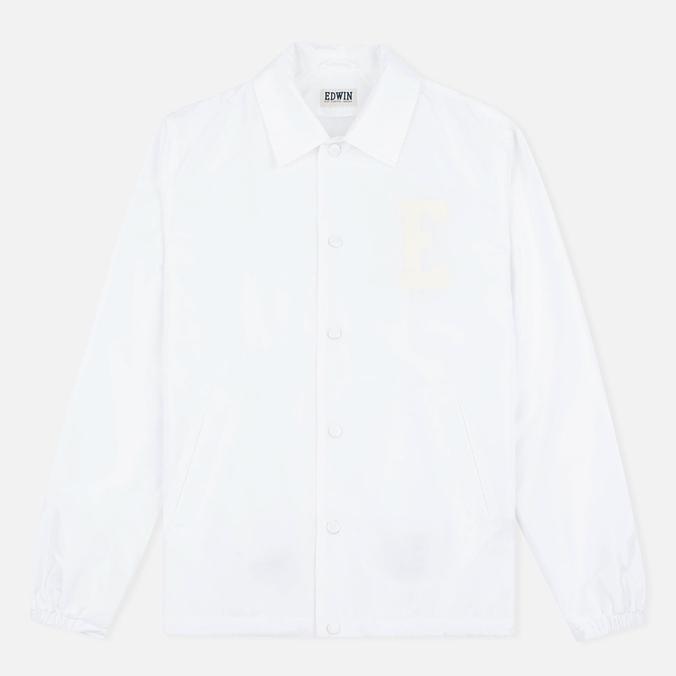 Мужская куртка ветровка Edwin Coach Twill White