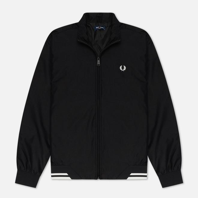 Мужская куртка ветровка Fred Perry Brentham Black