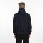 Мужская куртка ветровка Fred Perry Hooded Brentham Navy фото- 8