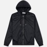 Мужская куртка ветровка Han Kjobenhavn Tech Zip Hood Black фото- 0